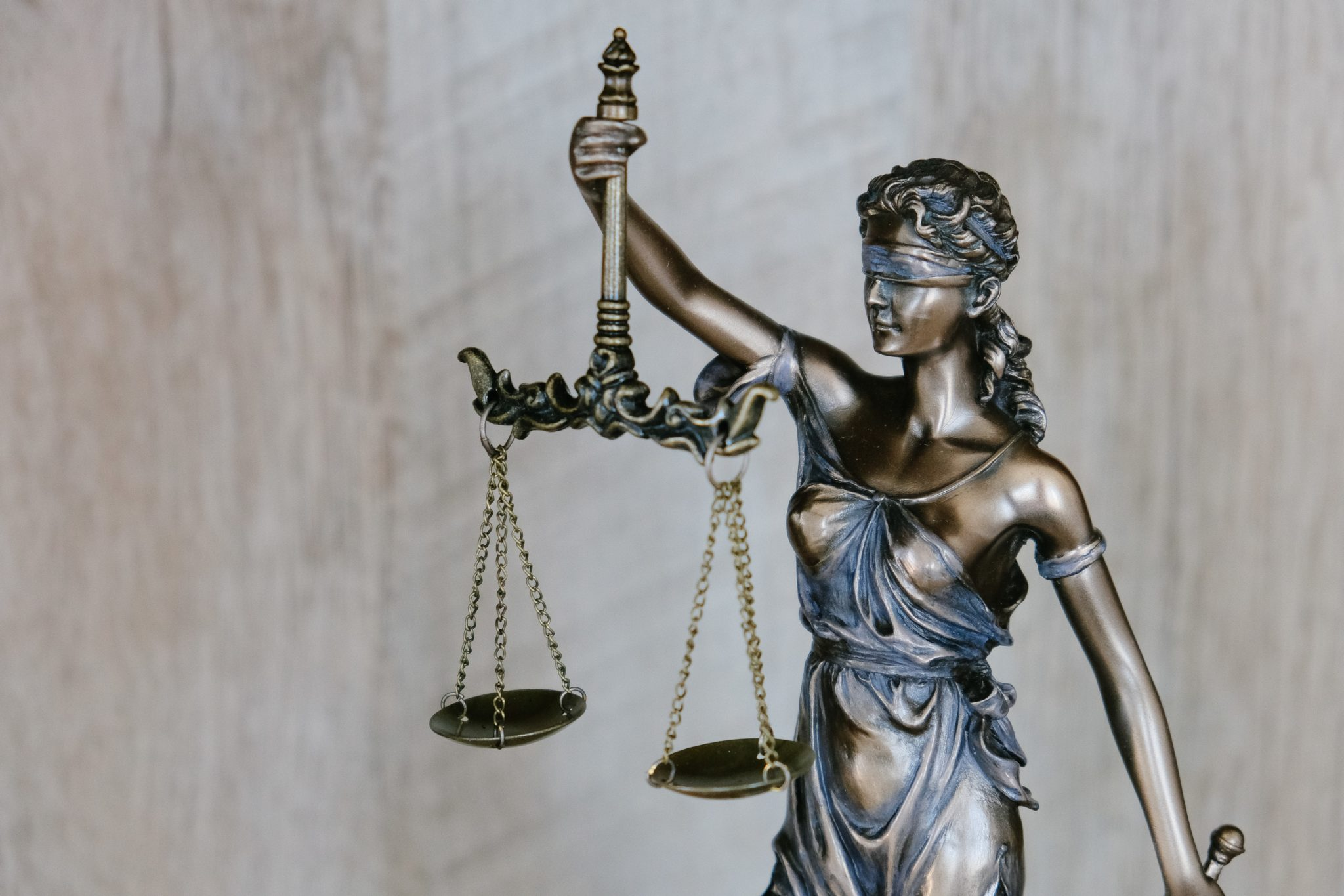 Lady Justice background.