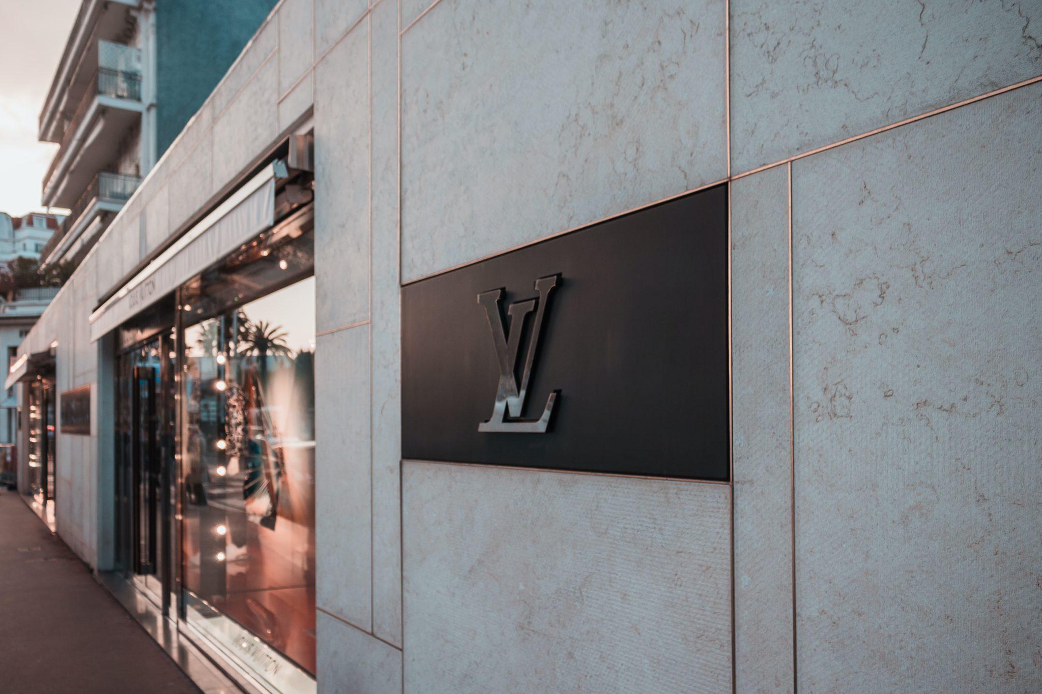 Louis Vuitton signage